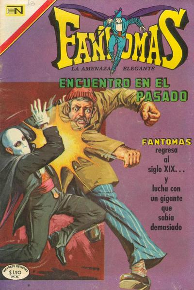 Cover for Fantomas (Editorial Novaro, 1969 series) #46