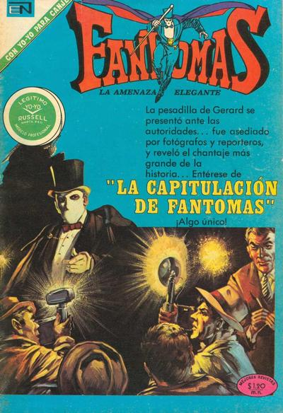 Cover for Fantomas (Editorial Novaro, 1969 series) #55