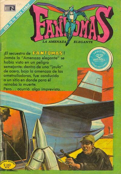 Cover for Fantomas (Editorial Novaro, 1969 series) #56