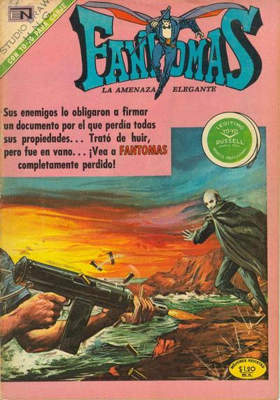 Cover for Fantomas (Editorial Novaro, 1969 series) #57