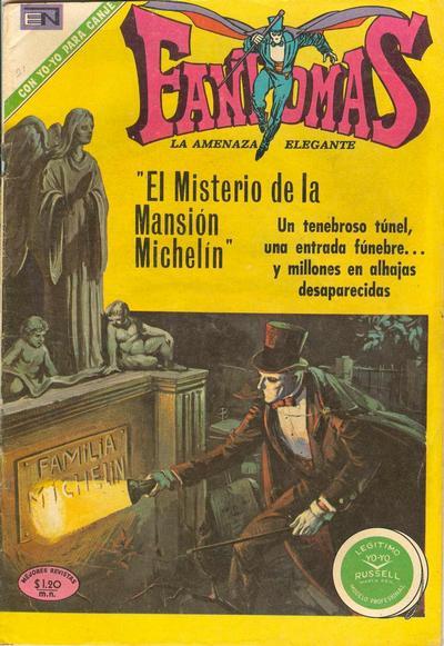 Cover for Fantomas (Editorial Novaro, 1969 series) #60
