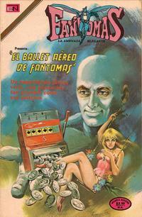 Cover Thumbnail for Fantomas (Editorial Novaro, 1969 series) #186