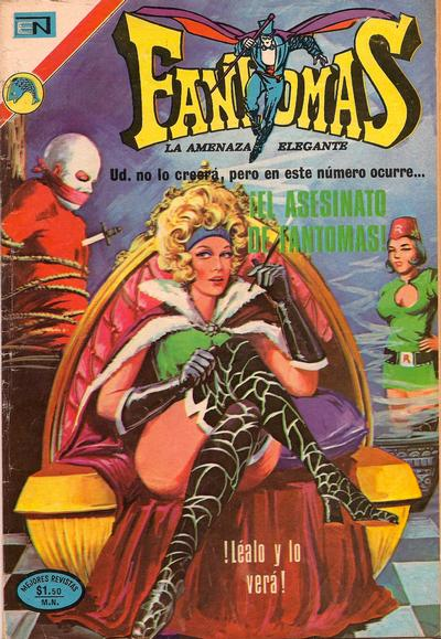 Cover for Fantomas (Editorial Novaro, 1969 series) #99