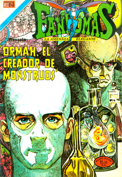 Cover for Fantomas (Editorial Novaro, 1969 series) #138