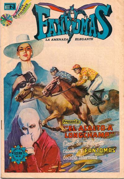 Cover for Fantomas (Editorial Novaro, 1969 series) #151