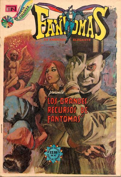 Cover for Fantomas (Editorial Novaro, 1969 series) #153