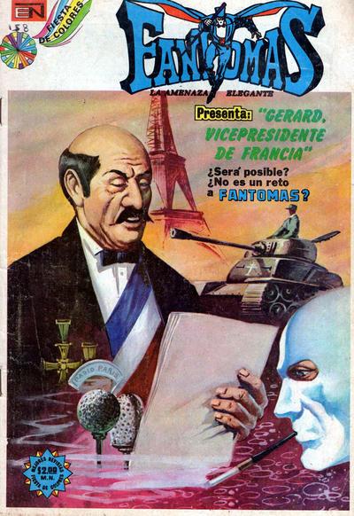 Cover for Fantomas (Editorial Novaro, 1969 series) #158