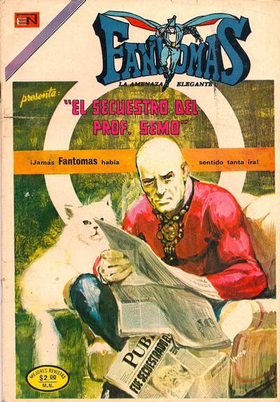 Cover for Fantomas (Editorial Novaro, 1969 series) #170