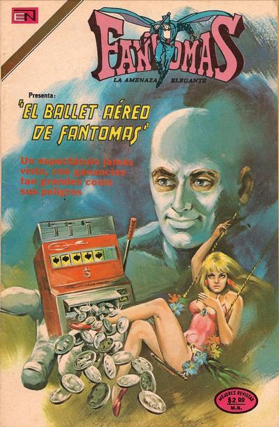 Cover for Fantomas (Editorial Novaro, 1969 series) #186