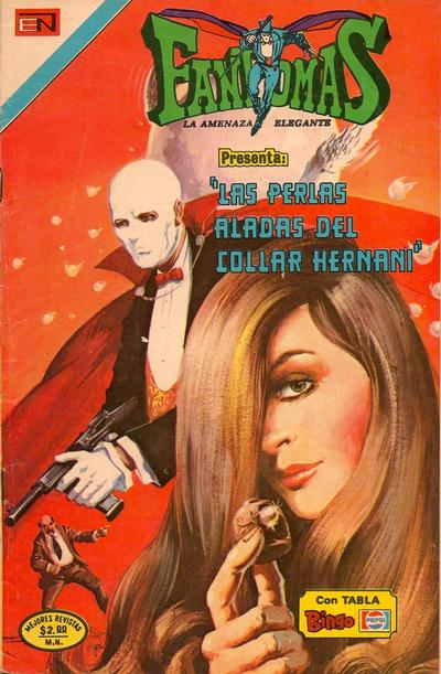 Cover for Fantomas (Editorial Novaro, 1969 series) #196