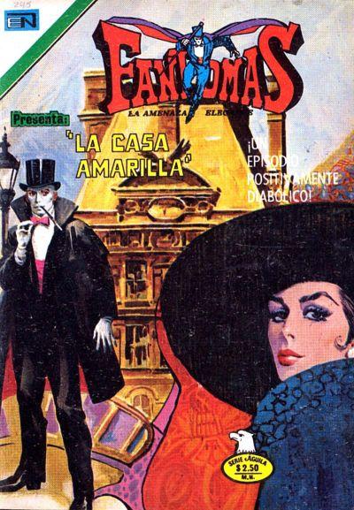 Cover for Fantomas (Editorial Novaro, 1969 series) #245