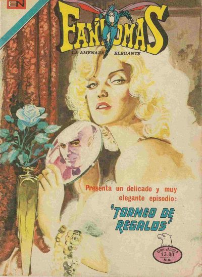 Cover for Fantomas (Editorial Novaro, 1969 series) #264