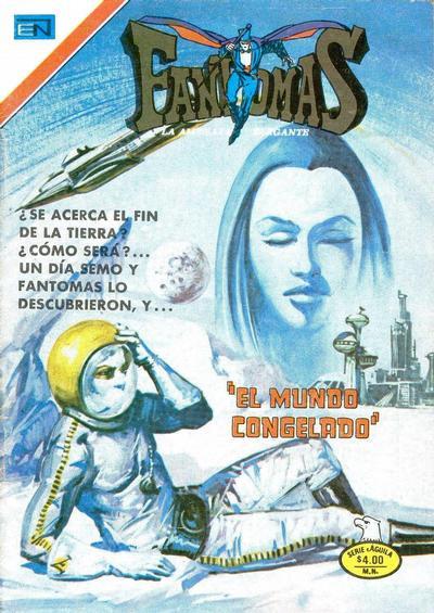 Cover for Fantomas (Editorial Novaro, 1969 series) #323