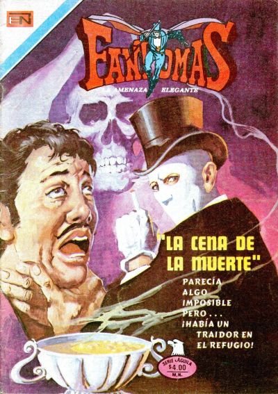 Cover for Fantomas (Editorial Novaro, 1969 series) #331