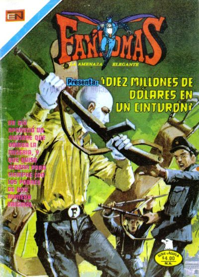 Cover for Fantomas (Editorial Novaro, 1969 series) #337