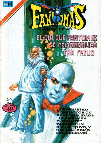 Cover for Fantomas (Editorial Novaro, 1969 series) #356