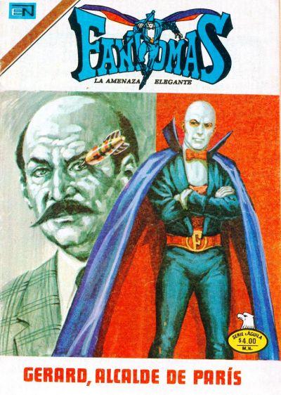Cover for Fantomas (Editorial Novaro, 1969 series) #358