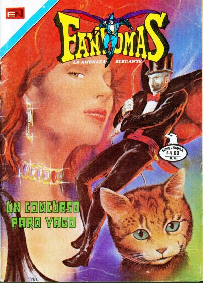 Cover for Fantomas (Editorial Novaro, 1969 series) #377