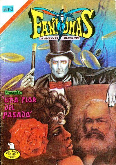 Cover for Fantomas (Editorial Novaro, 1969 series) #388