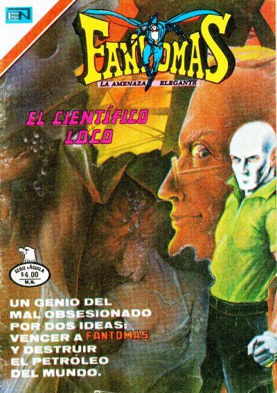 Cover for Fantomas (Editorial Novaro, 1969 series) #395