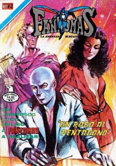 Cover for Fantomas (Editorial Novaro, 1969 series) #396