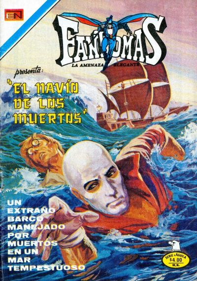 Cover for Fantomas (Editorial Novaro, 1969 series) #399