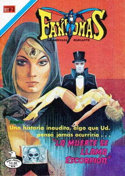 Cover for Fantomas (Editorial Novaro, 1969 series) #400
