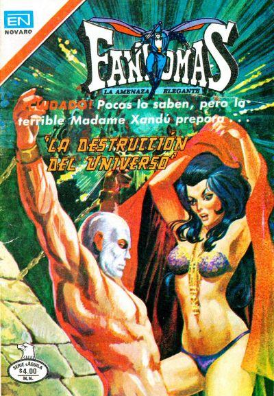 Cover for Fantomas (Editorial Novaro, 1969 series) #403
