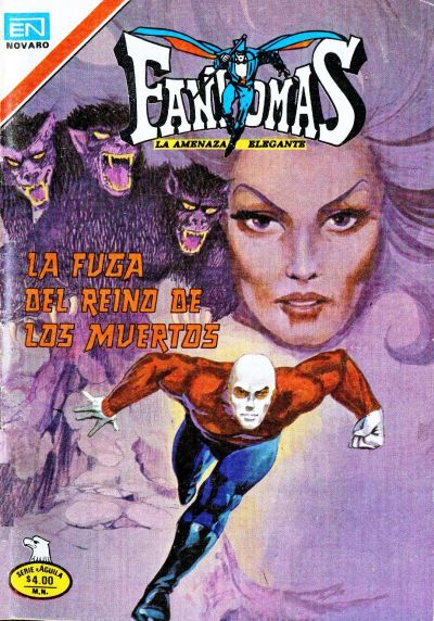 Cover for Fantomas (Editorial Novaro, 1969 series) #405