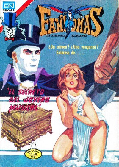 Cover for Fantomas (Editorial Novaro, 1969 series) #409