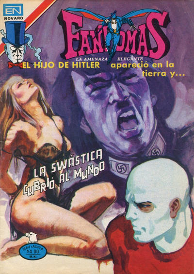 Cover for Fantomas (Editorial Novaro, 1969 series) #413