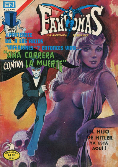 Cover for Fantomas (Editorial Novaro, 1969 series) #414