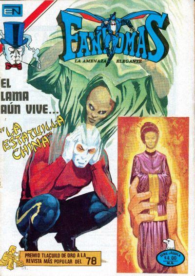 Cover for Fantomas (Editorial Novaro, 1969 series) #431