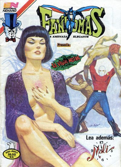 Cover for Fantomas (Editorial Novaro, 1969 series) #519