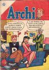 Cover for Archi (Editorial Novaro, 1956 series) #1