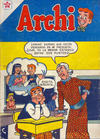 Cover for Archi (Editorial Novaro, 1956 series) #4
