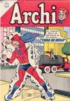 Cover for Archi (Editorial Novaro, 1956 series) #167
