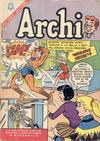 Cover for Archi (Editorial Novaro, 1956 series) #184