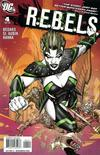 Cover for R.E.B.E.L.S. (DC, 2009 series) #4