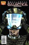 Cover for Battlestar Galactica: Origins (Dynamite Entertainment, 2007 series) #5 [Art Cover - Jonathan Lau]