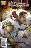 Cover for Battlestar Galactica: Origins (Dynamite Entertainment, 2007 series) #9 [Art Cover - Jonathan Lau]