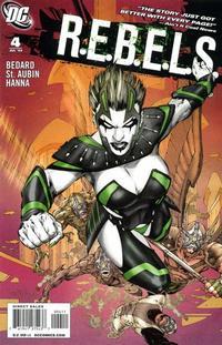 Cover Thumbnail for R.E.B.E.L.S. (DC, 2009 series) #4