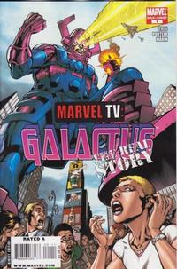 Cover Thumbnail for Marvel TV: Galactus - The Real Story (Marvel, 2009 series) #1