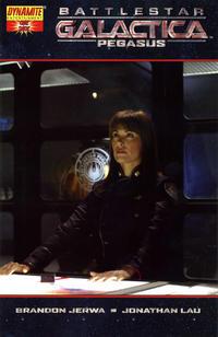 Cover Thumbnail for Battlestar Galactica: Pegasus (Dynamite Entertainment, 2007 series) #1 [Photo Cover Variant]