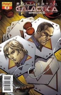 Cover Thumbnail for Battlestar Galactica: Origins (Dynamite Entertainment, 2007 series) #9 [Art Cover - Jonathan Lau]