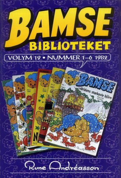 Cover for Bamsebiblioteket (Egmont, 2000 series) #19