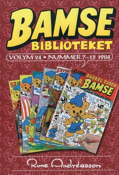 Cover for Bamsebiblioteket (Egmont, 2000 series) #24