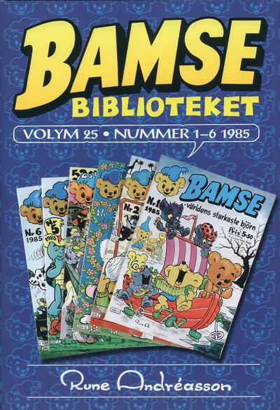 Cover for Bamsebiblioteket (Egmont, 2000 series) #25
