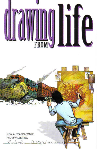 Cover for Drawing from Life (Image, 2007 series) #1