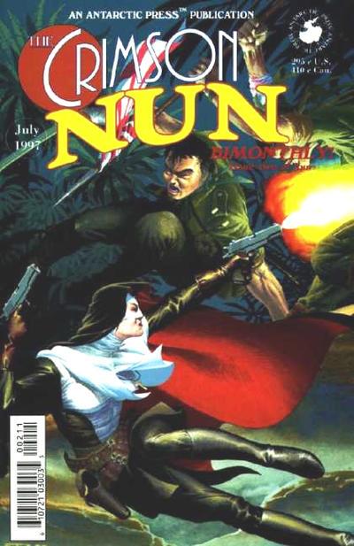 Cover for The Crimson Nun (Antarctic Press, 1997 series) #2
